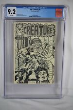Rare Early Dave Stevens Cover 1974/1977 The Creature #1 CGC Graded 9.2 Comic