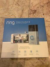Ring Video Doorbell 2 Version 1080 HD WiFi CCTV Phone Computer