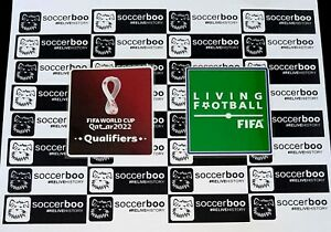 WORLD CUP QATAR 2022 QUALIFIERS PATCHES TOPPA BADGE MEXICO USA BRAZIL ITALY ETC