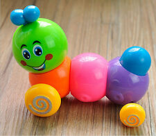Kids Child Develepmental Toy Movement Caterpillar Plastic Toys Wind-up Toys Gift