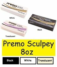 Sculpey Premo Polymer Clay 8oz - BEST VALUE RETAILER IN EU- Polyform Fimo Premo