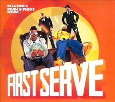 DE LA SOUL'S PLUG 1 &  PLUG 2 PRESENT - FIRST SERVE CD