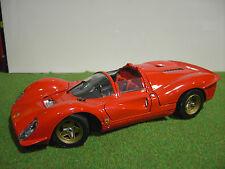 FERRARI 330 P4 SPIDER cabriolet street rouge 1/18 JOUEF EVOLUTION voiture miniat
