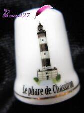 Dé à coudre Thimble Monument Paysage LE PHARE DE CHASSIRON #34/50