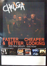 """CHELSEA  Faster Cheaper 1977 punk rock 34"""" x 24"""" POSTER"""