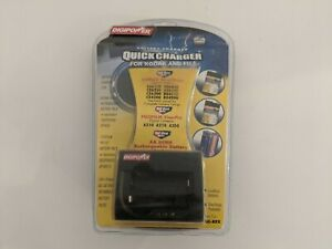 Digipower Battery Charger Quick Charger For Kodak And Fuji QC-KFX