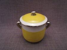 Pot à crème ancien en porcelaine de Limoges