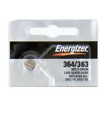 1 NEW ENERGIZER 364 363 SR621W SR621SW watch battery