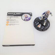 Heroclix Avengers Infinity set SHIELD Agent #011 Common figure w/card!