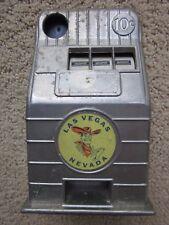 Vintage Las Vegas Nevada Metal Toy Coin Slot Machine Jackpot Bank