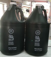 2 X PAUL MITCHELL TEA TREE SPECIAL SHAMPOO GALLON 128 oz EACH Great Deal