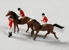 Luetke Z Scale Horse Riders Jockeys Figures Animals *NEW $0 SHIPPING