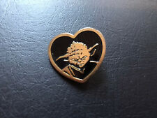 Star Wars Yoda Heart Pin - 2013