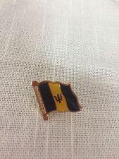 Barbados Flag Lapel Pin / Barbados Pin
