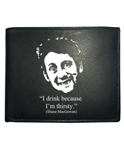 Shane MacGowan- I Drink Because I'm Thirsty- Funny Leather Wallet