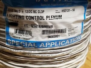 Tappan H92131 Composite Lutron Lighting/Shade Control Cable Plenum QSH-CBLP/50ft