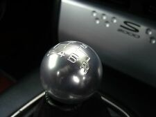 SATIN 6 speed round aluminium gear shift knob Honda S2000 Civic NSX CRV