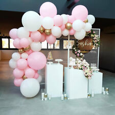 Pink Latex Confetti Balloon Arch Kit Set Birthday Wedding Baby Shower Decoration