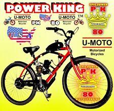 2-Stroke 66cc/80cc Motorized Bike Kit And 26� Bicycle Diy High Power Motor Bike