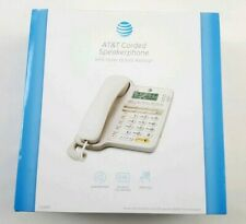 ATT CL2909 Corded Telephone Speakerphone w/ Caller ID & Call Waiting
