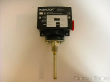Ashcroft Type B Series Temperature Switch T450TS-040 Type 400 15A 125/250VAC
