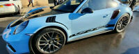 Porsche GT3rs Side Stripes stickers graphics decals