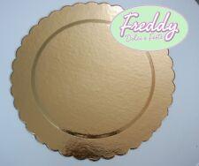 vassoio merlettato in cartone oro varie misure per torte dolci e pasticceria