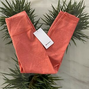 """Lululemon Wunder Train HR Tight 25"""" Coral size 2-4-6-8-14-16-20 New"""