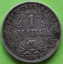 ALLEMAGNE 1 MARK 1907 E