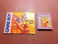 Nintendo Game Boy Cart w/ Manual Tested Tom and Jerry CLEAN LABEL Ships Fast