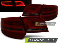 FANALI POSTERIORI LED AUDI A3 8P 04-08 SPORTBACK RED SMOKE LED LOOK*2114