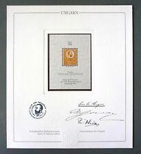 HUNGARY No. 1 OFFICIAL REPRINT UPU CONGRESS 1984 MEMBERS ONLY !! RARE !! z1059