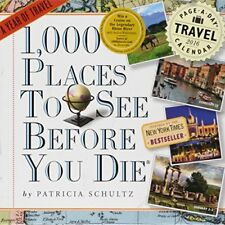 (Good)-1,000 Places to See Before You Die Page-A-Day Calendar 2016 (2016 Calenda