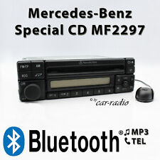 Mercedes Special MF2297 Bluetooth MP3 Radio with Microphone for Handsfree 1-DIN