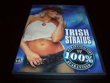 WWE Trish Stratus: 100% Stratusfaction Guranateed  (DVD, 2003)