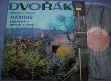DVORAK MARTINU String Quartet SMETANA QUARTET Supraphon STEREO 1st