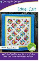 Ideal Cut quilt pattern by Cozy Quilt Designs