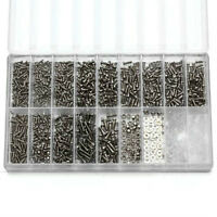 Hot 1000pcs Tiny Screws Nut+Screwdriver Watch Glasses Repair Tool Set Kit FT