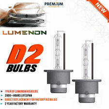 Lumenon D2 D2S D2C D2R HID Xenon Bulbs Replace Osram Philips Headlight 5K 6K 8K
