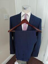 RICHARD JAMES SUIT 44 R NEW BNWT MAYFAIR SAVILE ROW BLUE PINDOT SUIT £425