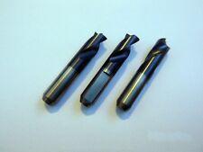 HSS Spot Weld Drills Drill Bit 8mmx44mm [Set of 3] EXTRA SHORT Version Drill Set