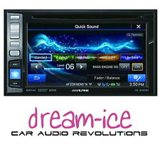 Alpine IVE-W585BT Double Din Car Headunit Stereo DVD CD USB Bluetooth iPhone