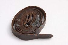 "7/16"" Wide 34"" Long Leather Belt Style Case Neck Strap - CRACKING USED V487"