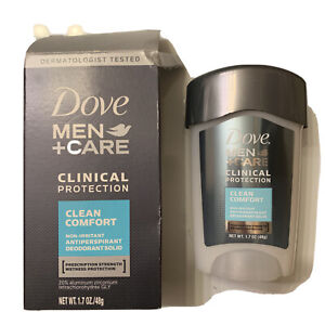 Dove Mens + Care Deorante Clinical Protection Clean Comfort Solid 1.7Oz Solid F1