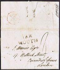 Norfolk PH 1801 Cuxhaven Sassonia a Londra tramite Yarmouth