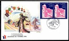 FRANCE FDC - 1996 11 JOURNEE DU TIMBRE - 2991A - CUSSET