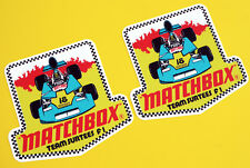 "Vintage Classic ""Team Surtees'S MATCHBOX historique années 1970 F1 Style Autocollants Decals"
