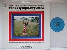 STOKOWSKI CONDUCTS IVES SYMPHONY NO 4 AMERICAN SO CBS 72403