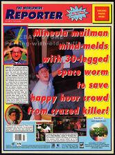 THE SPACE BAR__Original 1997 Print AD / game promo__PC__SegaSoft__Steve Meretzky