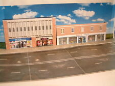 """""""N"""" Gauge Low Relief Store ( Tesco ) and Others Self Assembly Card Kit ."""